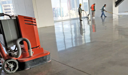 Commercial-Polished-Concrete-COLOSSOS-XT