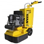 Propane powered floor concrete floor grinding and polishing machine