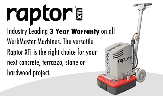 WerkMaster-Raptor-XTi-Features-3-Year-Warranty