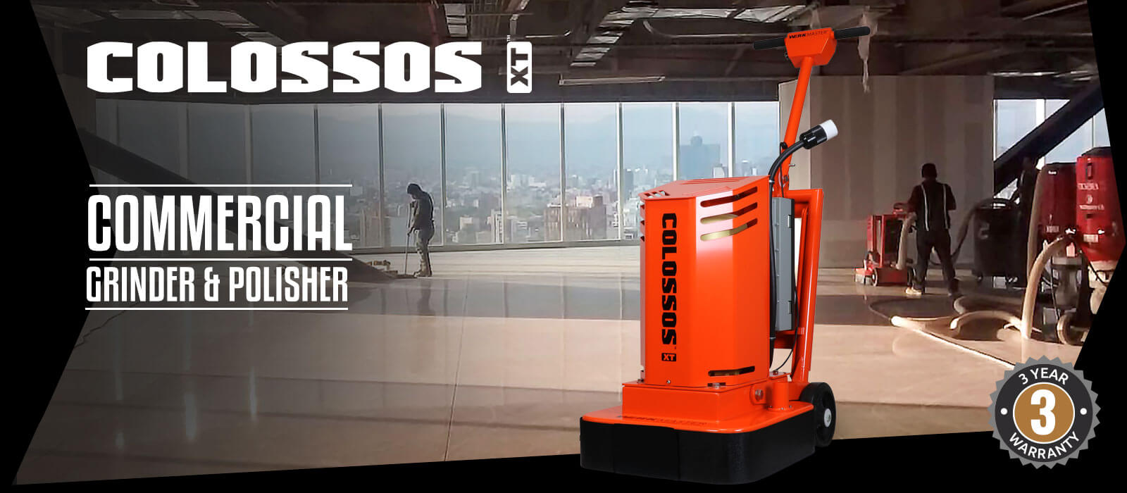 Colossos XT Commercial Grinder & Polisher