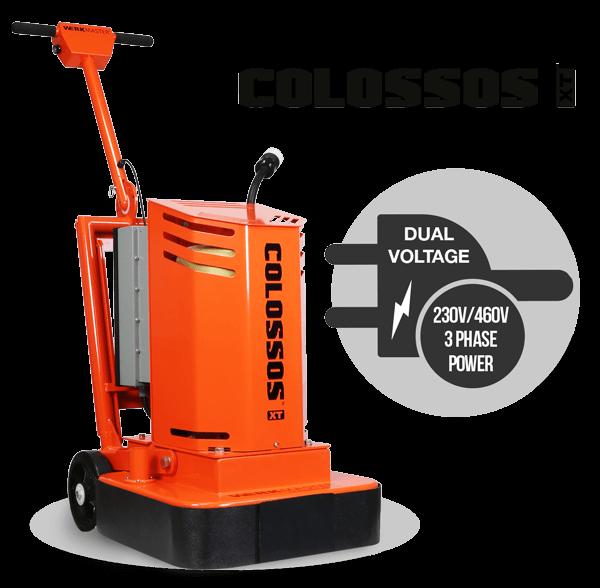 Colossos XT - Dual Voltage 230V / 460V