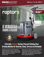 Raptor XTi Brochure Cover