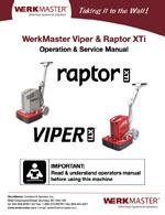Raptor XTi - Viper XT - Operator's Manual