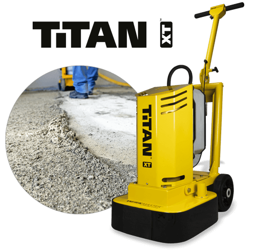 Titan XT Preparing concrete