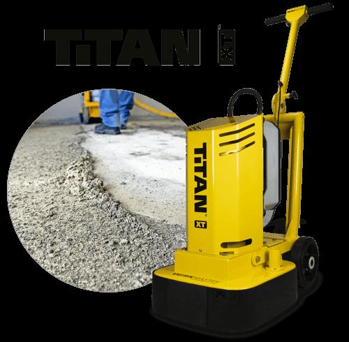 Titan XT Preparing concrete