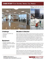 Colossos XT - Torre Glorieta, Mexico City, Mexico Case Study