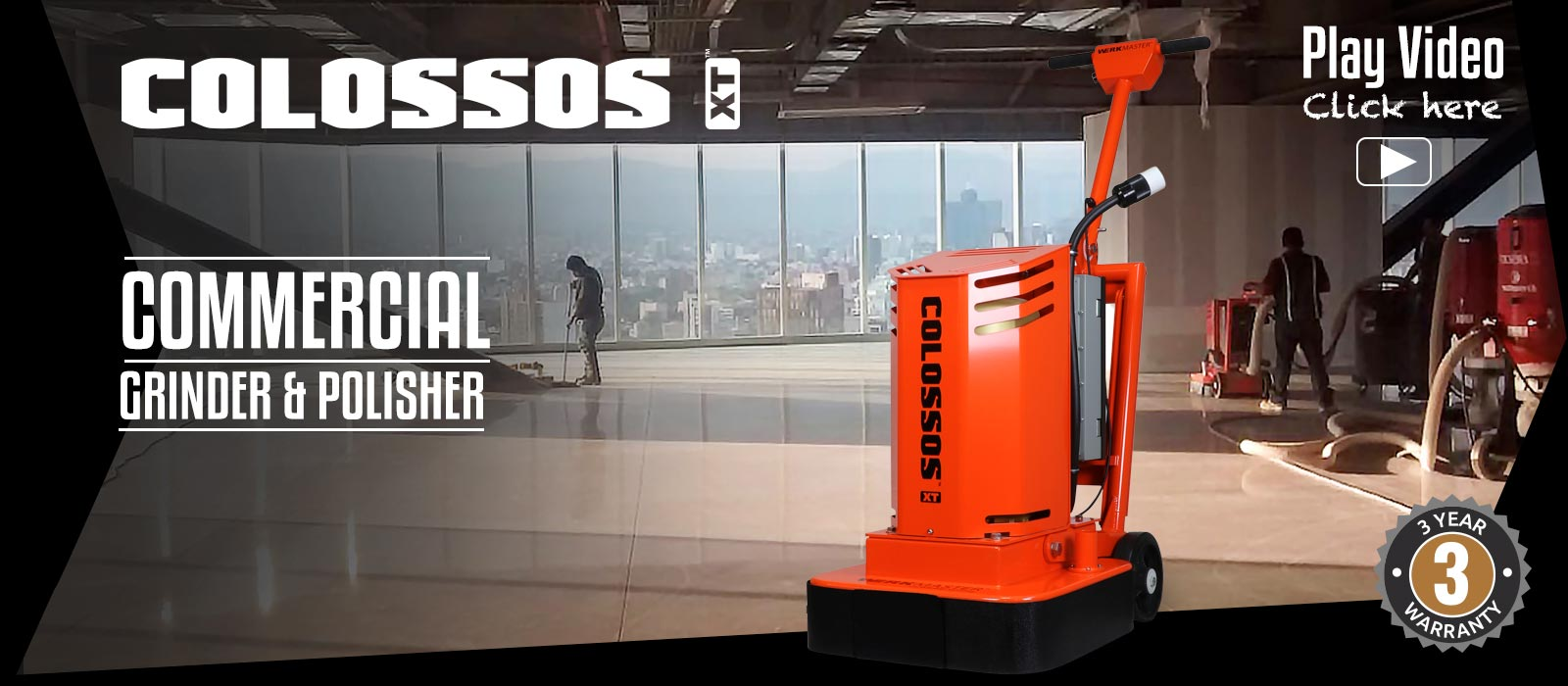 WerkMaster Colossos XT Commercial Grinder & Polisher