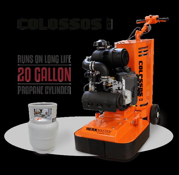 WerkMaster Colossos XT Propane 20 Gallon Vapor Cylinder