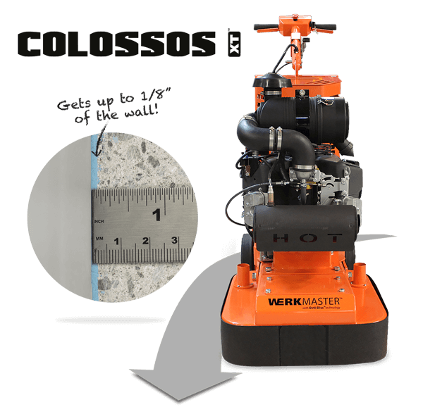 WerkMaster Colossos XT Propane Gets up to 1/8