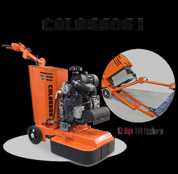 WerkMaster Colossos XT Propane EZ Bak Tilt Feature