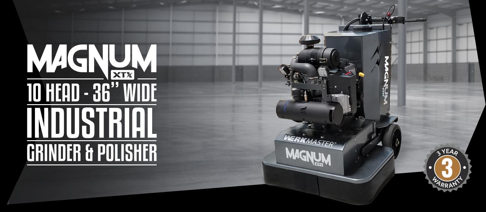 WerkMaster Magnum XTX 10 Head - 36