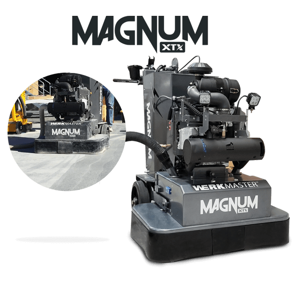 WerkMaster Magnum XTX at the World of Concrete 2018