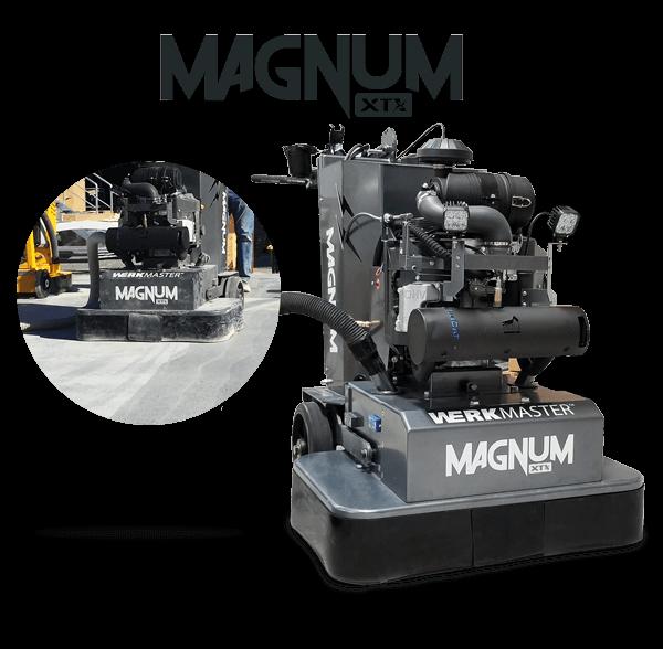 WerkMaster Magnum XTX at the World of Concrete 2018