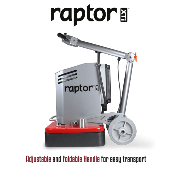 WerkMaster Raptor XTi Foldable for easy transport
