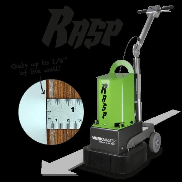 WerkMaster Rasp Get's up to 1/8