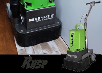 WerkMaster RASP - Professional Hardwood Floor Sander