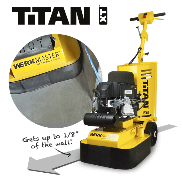 WerkMaster Titan XT Propane - Gets up to 1/8