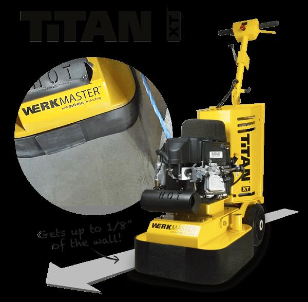 WerkMaster Titan XT Propane - Gets up to 1/8