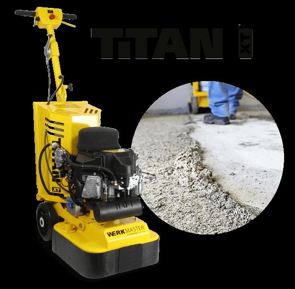 WerkMaster Titan XT Propane Concrete Prep