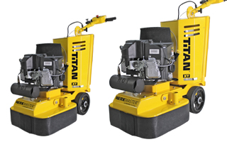Propane Powered Concrete Floor Grinder and Polisher Machine