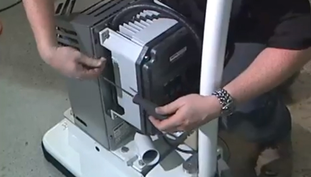 Part 2 - Removing Shroud, Handle & Motor