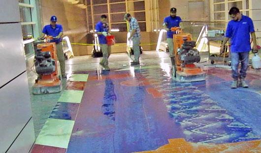 propane-floor-polisher-terrazzo-airport