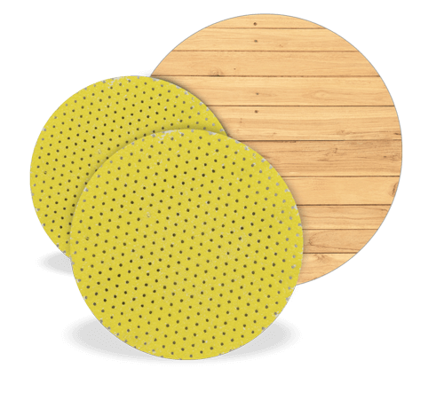 TurboFinish Abrasion Discs - Hardwood Tooling