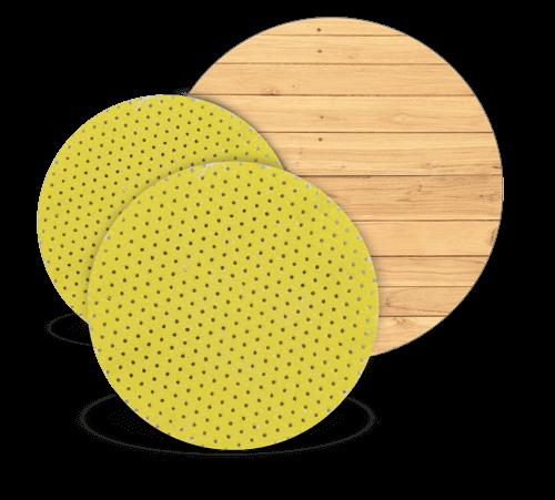 TurboFinish Abrasion Discs - Hardwood Tooling