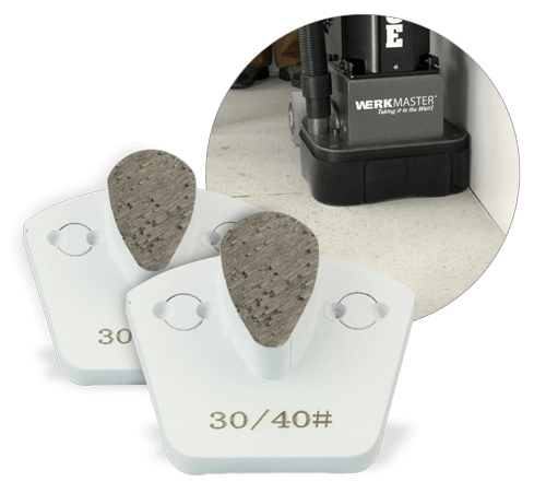 WerkMaster Standard TearDrop - Polishing Concrete Tooling