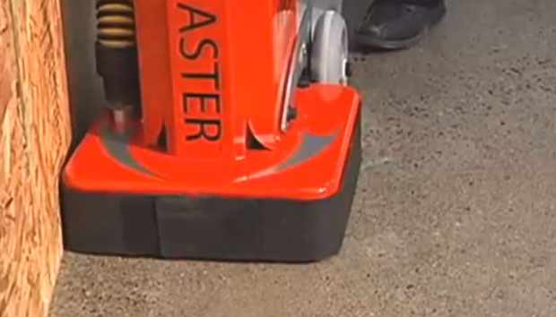 Werkmaster Viper Grinding Concrete