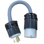 3 phase to single phase adapter plug