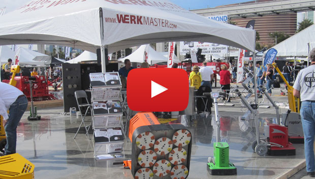 World of Concrete 2014 Concrete Polishing Video
