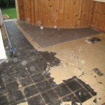 Asbestos under vinyl tile