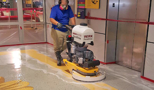 challenger-floor-buffer-and-polisher-indoor-operation