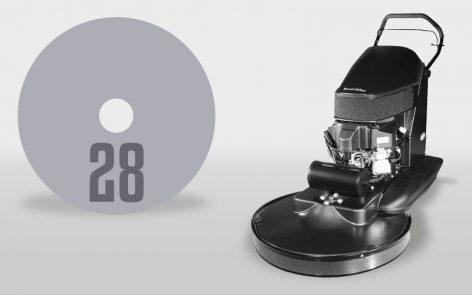 PE440BU 28 Burnisher
