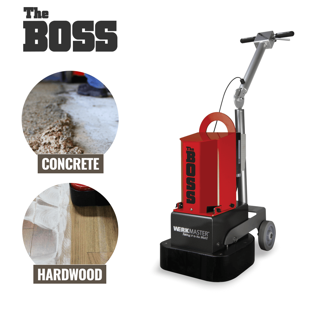 WerkMaster The Boss on Hardwood and Concrete