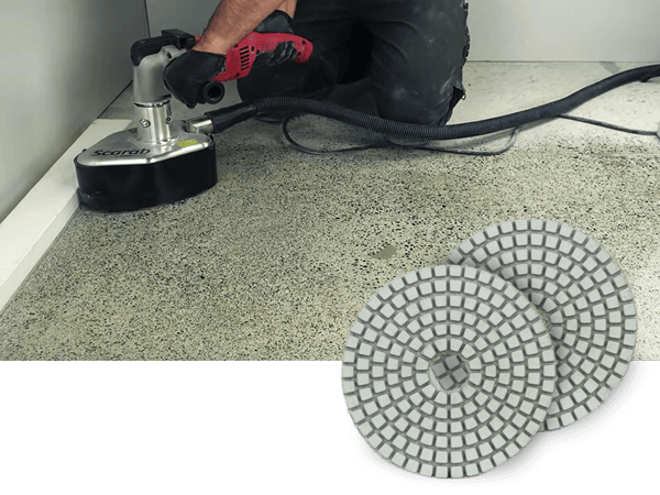 Step by step diy how to polish concrete floors for How to polish concrete floors