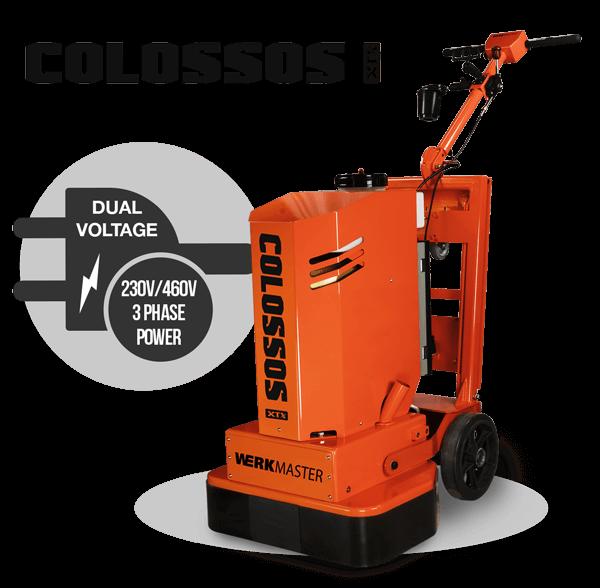 Colossos XTX - Dual Voltage 230V / 460V