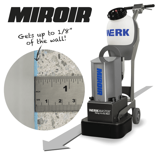 WerkMaster Miroir can edge up to 1/8