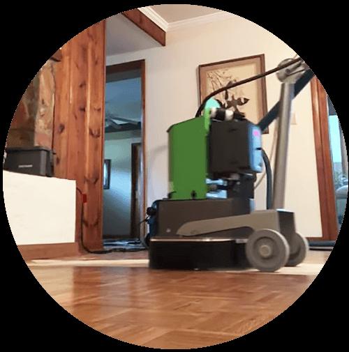 Finishing Touch Floors using the WerkMaster RASP