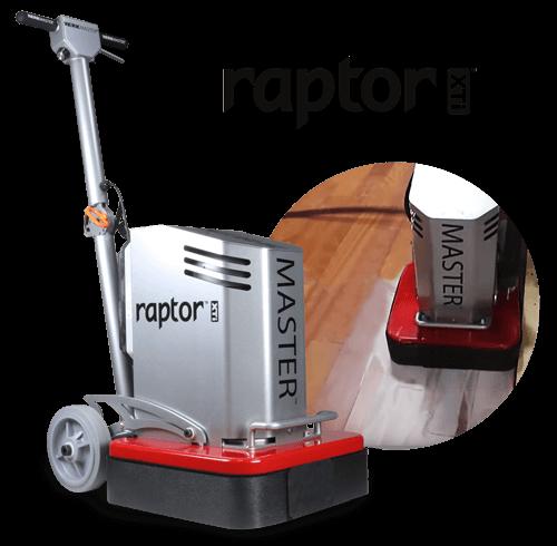 Raptor XTi Removing Aluminum Oxide on Engineered Hardwood