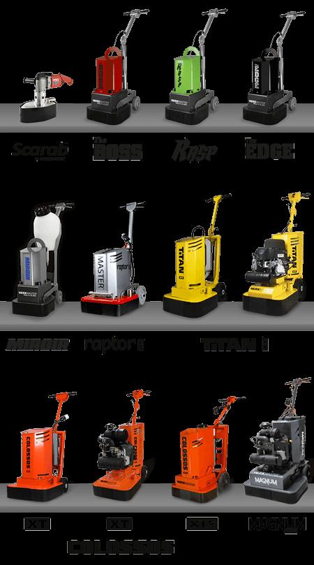 WerkMaster Machines Line up