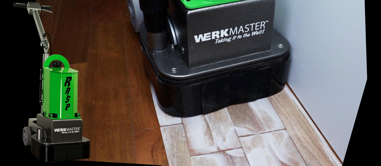 SandPaperLess Hardwood Refinishing System