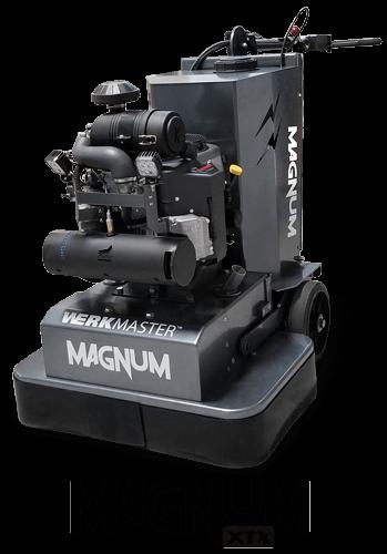 WerkMaster Magnum XTX - 10 Head, Industrial Grinder & Polisher