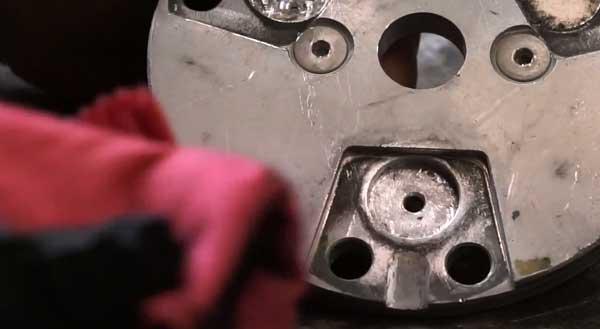 Step 3 of magnet repair