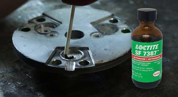 Step 4 of magnet repair