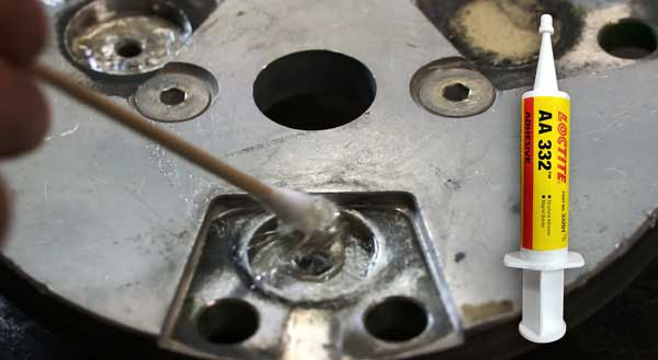 Step 5 of magnet repair