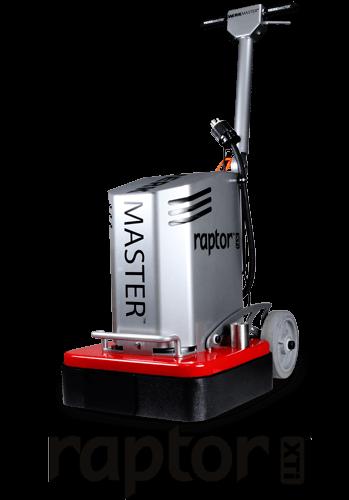 WerkMaster Raptor XTi - Concrete & Hardwood Grinder & Polisher