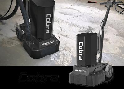 WerkMaster Cobra, Concrete Grinder