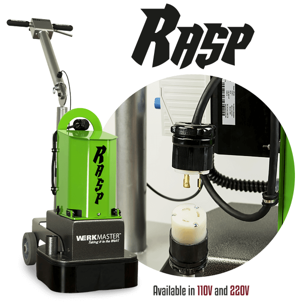 RASP Available in 110V and 220V Models